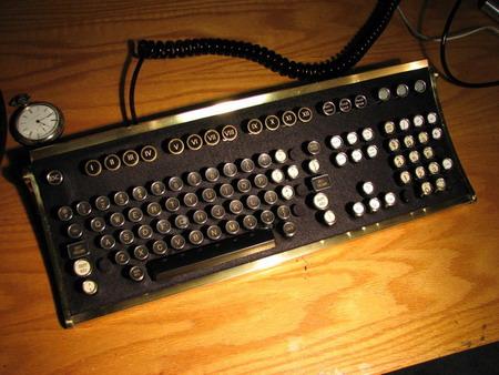 Steampunk Keyboard Modification